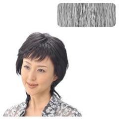 【ソシエ】 部分ウィッグコレクション モアヘアピース #白髪80%入 【ヘアケア:かつら・ウィッグ・エクステ】