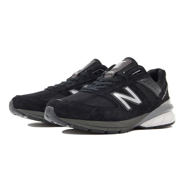 【ニューバランス】 ニューバランス M990BK5 [カラー:ブラック] [サイズ:27cm(US9) Dワイズ] [MADE IN USA] 【靴:メンズ靴:スニーカー】【M990】