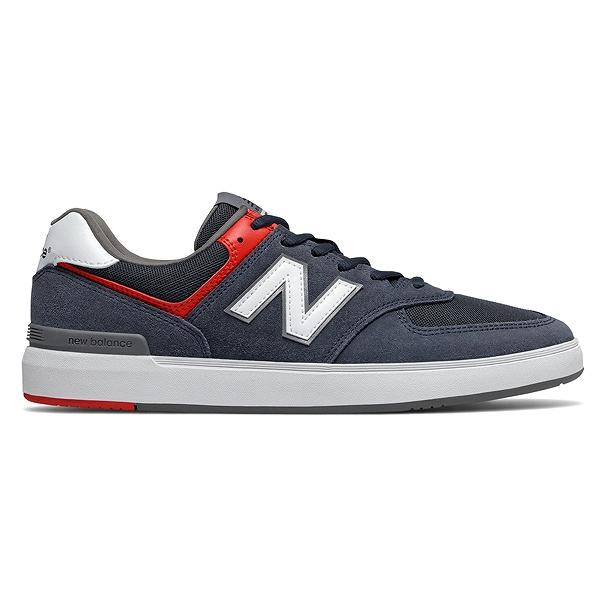 【ニューバランス】 ニューバランス ヌメリック AM574NVR [サイズ:28cm (US10) Dワイズ] [カラー:ネイビー×ホワイト×レッド] 【靴:メンズ靴:スニーカー】
