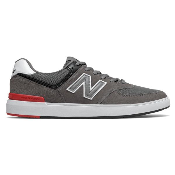 【ニューバランス】 ニューバランス ヌメリック AM574GIC [サイズ:27cm (US9) Dワイズ] [カラー:グレー×ホワイト×レッド] 【靴:メンズ靴:スニーカー】
