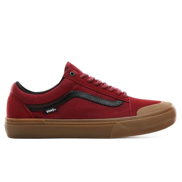 【バンズ】 バンズ オールドスクール プロ BMX (Ty Morrow) [サイズ:27cm(US9)] [カラー:バイキングレッド×ガム] #VN0A45JUUZX 【靴:メンズ靴:スニーカー】【VN0A45JUUZX】