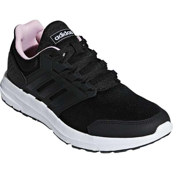 【アディダス】 GLX4 W [サイズ:25.0cm] [カラー:コアブラック×トゥルーピンク] #F36183 【靴:レディース靴:スニーカー】