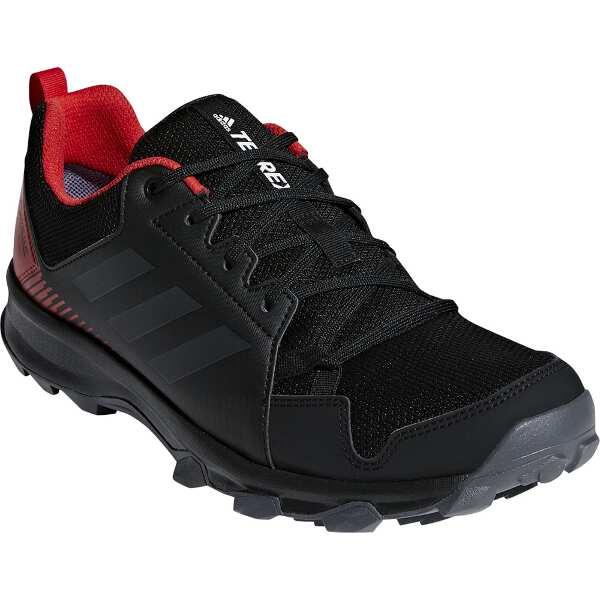 【アディダス】 TERREX TRACEROCKER GTX(GORE-TEX搭載) [サイズ:26.5cm] [カラー:コアブラック×カーボン×レッド] #BC0434 【スポーツ・アウトドア:登山・トレッキング:靴・ブーツ】
