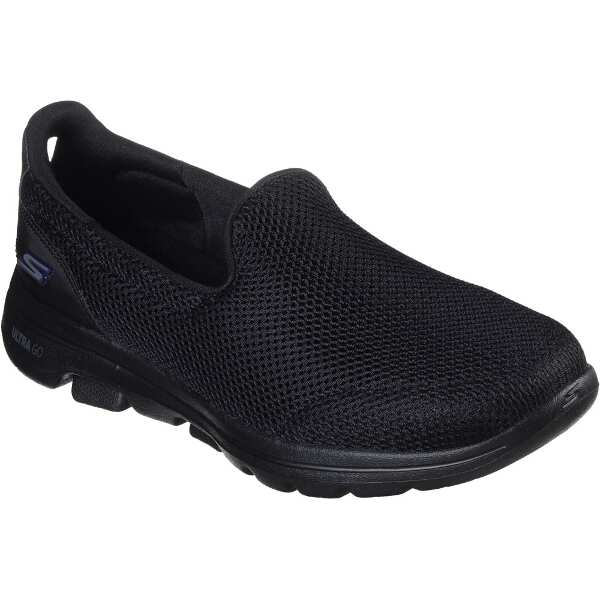 【スケッチャーズ】 GO WALK 5 レディース [サイズ:23.5cm] [カラー:ブラック] #15901-BBK 【靴:レディース靴:スリッポン】
