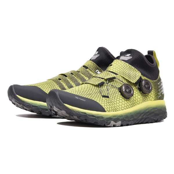 【ニューバランス】 FRESH FOAM HIERRO M トレイルランニングシューズ [サイズ:25.0cm(D)] [カラー:イエロー] #MTHBOAY 【スポーツ・アウトドア:登山・トレッキング:靴・ブーツ】:ビューティーファイブ