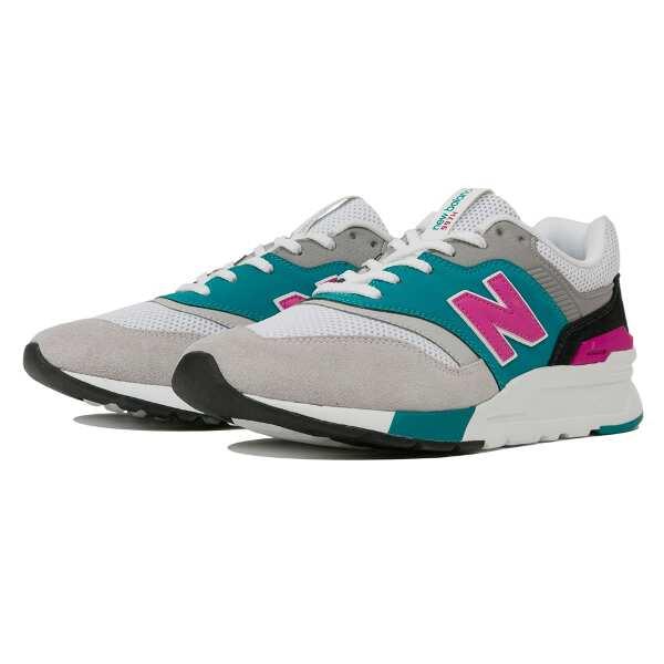 【ニューバランス】 CM997H ランニングシューズ [サイズ:23.5cm(D)] [カラー:グレー×バーダイト] #CM997HZH 【靴:メンズ靴:スニーカー】