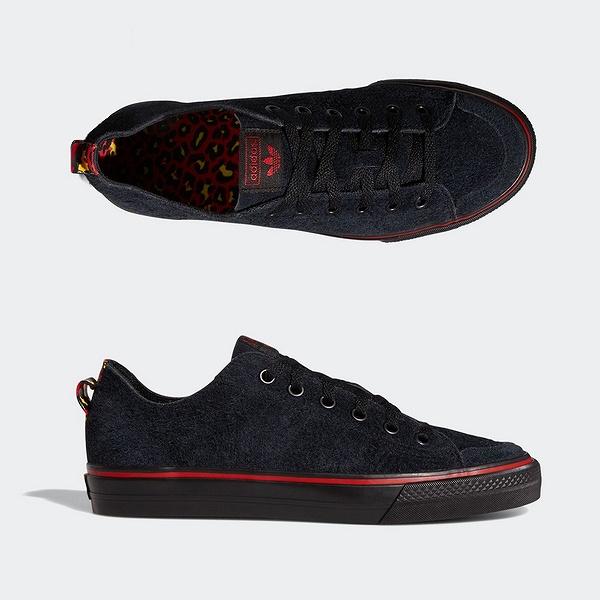 【アディダス】 アディダス スケートボーディング ニッツァ RF × NA-KEL [サイズ:27cm(US9)] [カラー:コアブラック×スカーレット×ランニングホワイト] #EF1033 【靴:メンズ靴:スニーカー】【EF1033】