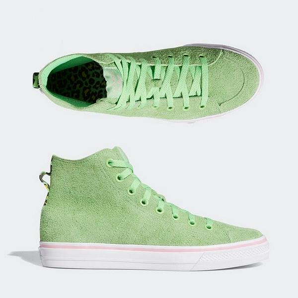 【5%off+最大3000円offクーポン(要獲得) 5/19 9:59まで】 【送料無料】 アディダス スケートボーディング ニッツァ HI RF × NA-KEL [サイズ:27cm(US9)] [カラー:スプリンググリーン×ホワイト×ライトピンク] #EF1032 [あす楽] 【アディダス: 靴 メンズ靴】