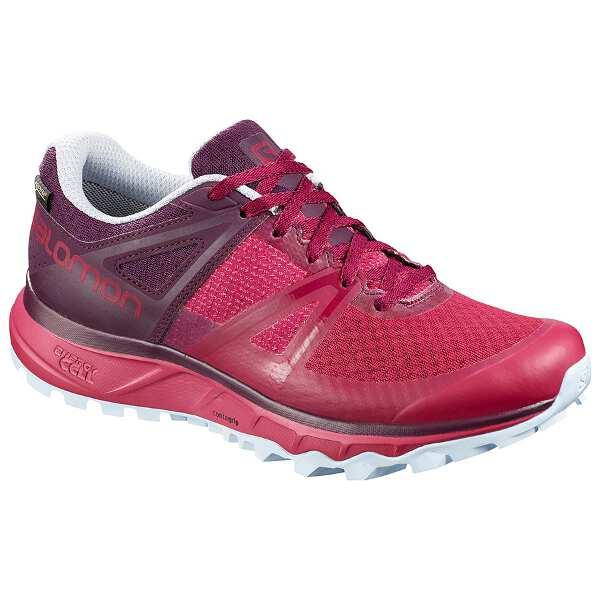 【サロモン】 トレイルスタ― GTX W GORE-TEX搭載(レディース) [サイズ:24.5cm] [カラー:セリース×Pパープル] #L40789900 【スポーツ・アウトドア:登山・トレッキング:靴・ブーツ】