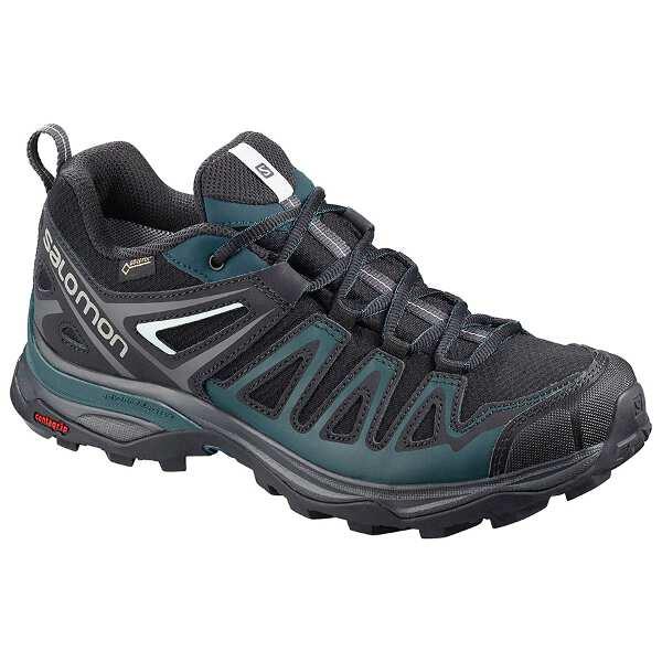 【サロモン】 X ウルトラ 3 プライム GTX W GORE-TEX搭載(レディース) [サイズ:24.5cm] [カラー:ブラック×リフレクティングポンド] #L40786200 【スポーツ・アウトドア:登山・トレッキング:靴・ブーツ】