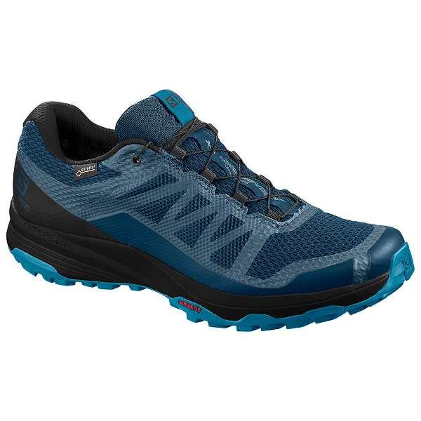 【サロモン】 XA ディスカバリ― GTX GORE-TEX搭載 [サイズ:27.5cm] [カラー:ポセイドン×ブラック] #L40917900 【スポーツ・アウトドア:登山・トレッキング:靴・ブーツ】