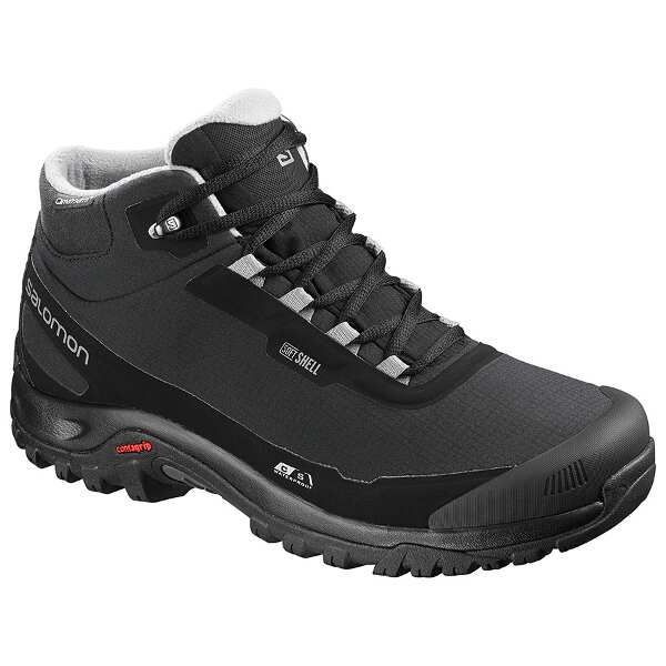 【サロモン】 シェルタ― CS WP ウィンターシューズ [サイズ:27.0cm] [カラー:ブラック×フロストグレー] #L40472900 【靴:メンズ靴:スノーシューズ】