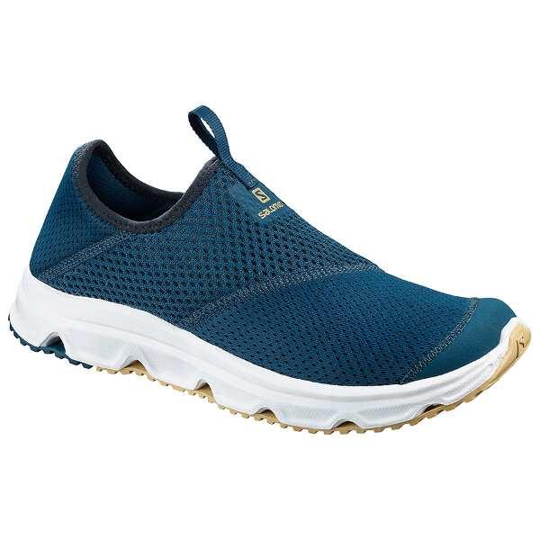 【サロモン】 RX モック 4.0 リカバリ― スリッポン [サイズ:26.5cm] [カラー:ポセイドン×ホワイト] #L40600900 【靴:メンズ靴:スリッポン】