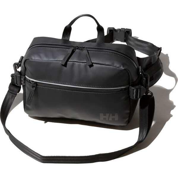 【ヘリーハンセン】 アーケルヒップバッグ [カラー:ブラック] [サイズ:18×27×11cm(5L)] #HY91884-K 【スポーツ・アウトドア:アウトドア:バッグ:ボディバッグ・ウエストポーチ】