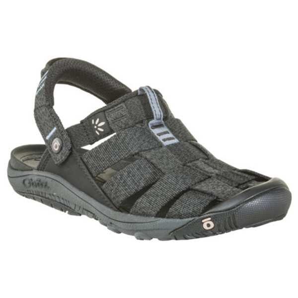 【最大10%offクーポン(要獲得) 3/27 20:00~3/31 9:59まで】 【送料無料】 ウィメンズ キャンプスター サンダル [サイズ:US6(23.0cm)] [カラー:ブラック×ブルーミラージュ] #60502-BLACK 【オボズ: 靴 レディース靴 サンダル】【OBOZ WOMENS Campster】