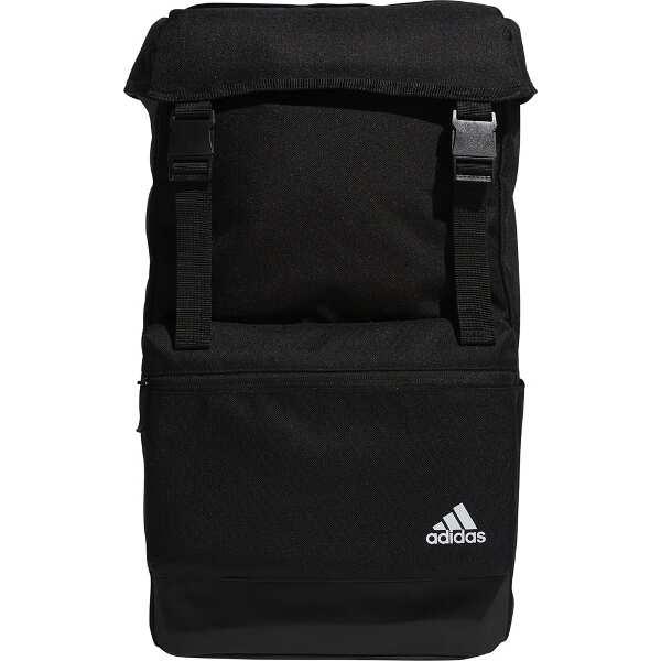 【アディダス】 スクエアバックパック [カラー:ブラック] [容量:25L] #GEC52-EE1089 【スポーツ・アウトドア:アウトドア:バッグ:バックパック・リュック】