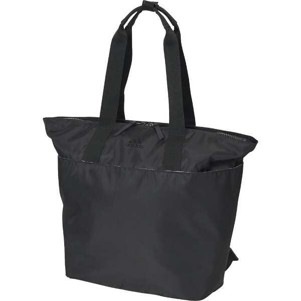 【アディダス】 ウィメンズトレーニング IDトートバッグ [カラー:ブラック×ブラック] [容量:22L] #FXJ27-DZ6208 【スポーツ・アウトドア:スポーツウェア・アクセサリー:スポーツバッグ:トートバッグ】