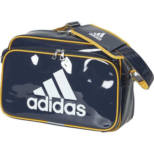 【アディダス】 エナメルバッグ(M) [カラー:レジェンドインク] [サイズ:41×28×16cm(18L)] #ETX12-ED1762 【スポーツ・アウトドア:アウトドア:バッグ:ボストンバッグ・ダッフルバッグ】