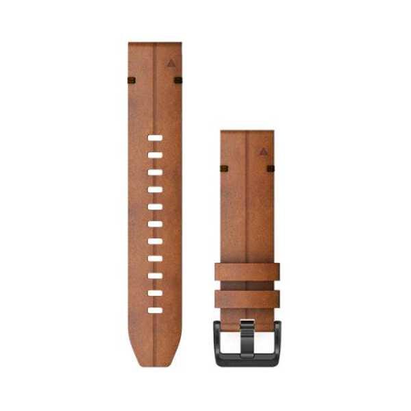 【ガーミン】 QuickFit F6 22mm Chestnut Leather #010-12863-15 【スポーツ・アウトドア:アウトドア:精密機器類:GPS】