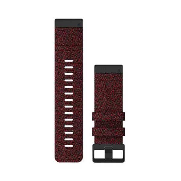 【5%offクーポン(要獲得) 10/11 20:00~10/15 23:59】 【送料無料】 QuickFit F6 26mm Red Nylon #010-12864-16 【ガーミン: スポーツ・アウトドア アウトドア 精密機器類】【GARMIN】
