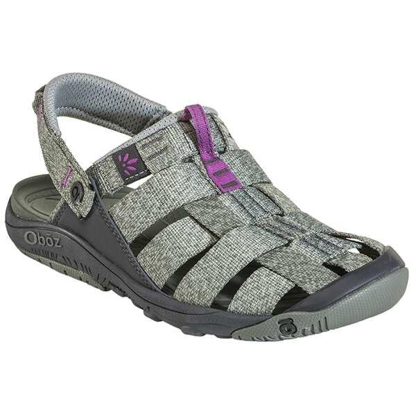 【オボズ】 ウィメンズ キャンプスタ― サンダル [サイズ:US8(25.0cm)] [カラー:タイム×マゼンタ] #60502-THYME 【靴:レディース靴:サンダル:スポーツサンダル】
