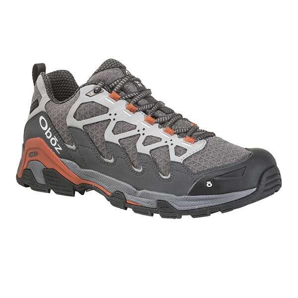 【オボズ】 メンズ サーク ロ― ビードライ [サイズ:US10(28.0cm)] [カラー:ピューター×オレンジ] #41501-PEWTE 【スポーツ・アウトドア:登山・トレッキング:靴・ブーツ】