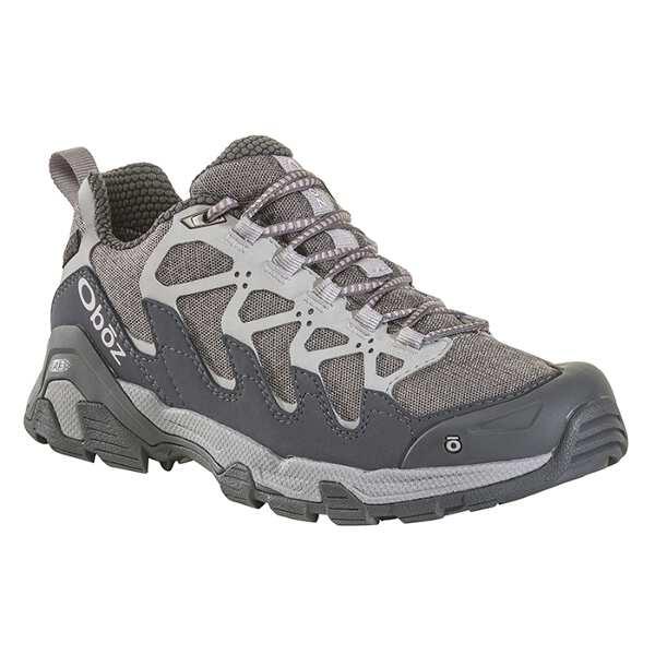 【オボズ】 ウィメンズ サーク ロ― ビードライ [サイズ:US6(23.0cm)] [カラー:ピューター×バイオレットアイス] #41502-PEWTE 【スポーツ・アウトドア:登山・トレッキング:靴・ブーツ】