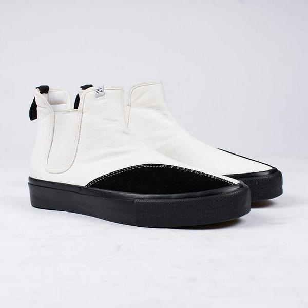 【5%off+最大3000円offクーポン(要獲得) 5/19 9:59まで】 【送料無料】 ジェフリー [サイズ:26.5cm(US8.5)] [カラー: WHITE BLACK] #CM0170012 【クリアウェザー: 靴 メンズ靴 スニーカー】【CLEAR WEATHER JEFFREY BLACK】