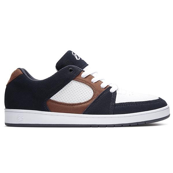 【最大10%offクーポン(要獲得) 12/19 20:00~12/23 9:59まで】 アクセル スリム [サイズ:26cm(US8)] [カラー:ネイビー×タン×ホワイト] #5101000144467 【エス: 靴 メンズ靴 スニーカー】【es es ACCEL SLIM】