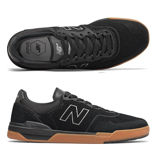 【ニューバランス】 ニューバランス ヌメリック NM913BSG [サイズ:27.5cm (US9.5) Dワイズ] [カラー:ブラック×ガム] 【靴:メンズ靴:スニーカー】【NM913】