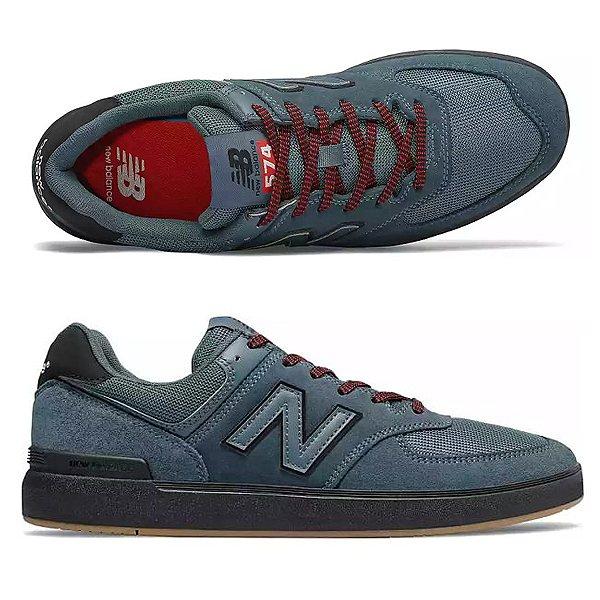 【ニューバランス】 ニューバランス ヌメリック AM574BNY [サイズ:27cm (US9) Dワイズ] [カラー:ブルー×ブラック] 【靴:メンズ靴:スニーカー】【AM574】