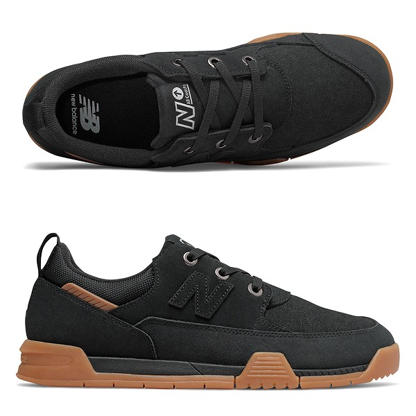 【5%off+最大3000円offクーポン(要獲得) 5/19 9:59まで】 【送料無料】 ニューバランス ヌメリック AM562BBB [サイズ:28cm (US10) Dワイズ] [カラー:ブラック×ガム] 【ニューバランス: 靴 メンズ靴 スニーカー】【NEW BALANCE】