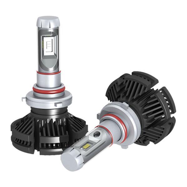 【アークス】 LEDヘッドランプバルブ HB3 6500K #GRX-56 【カー用品:ライトランプ:ヘッドライト:LED】