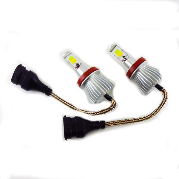 【ブレイス】 ツインカラ― LEDフォグランプ Y/W H8/H11 #BE-353 【カー用品:ライトランプ:フォグライト:LED】