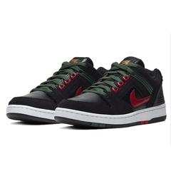 【ナイキ】 ナイキ SB フォース 2 ロ― [サイズ:27cm(US9)] [カラー:ブラック×ジムレッド×ディープフォレスト] #AO0300-002 【靴:メンズ靴:スニーカー】【AO0300-002】
