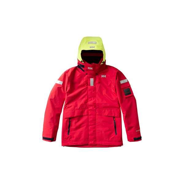【ヘリーハンセン】 オーシャン フレイ ジャケット(セーリングジャケット) [サイズ:M] [カラー:レッド] #HH11990-R 【スポーツ・アウトドア:マリンスポーツ】