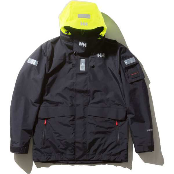 【ヘリーハンセン】 オーシャン フレイ ジャケット(セーリングジャケット) [サイズ:M] [カラー:ブラック] #HH11990-K 【スポーツ・アウトドア:アウトドア:ウェア:メンズウェア:アウター】