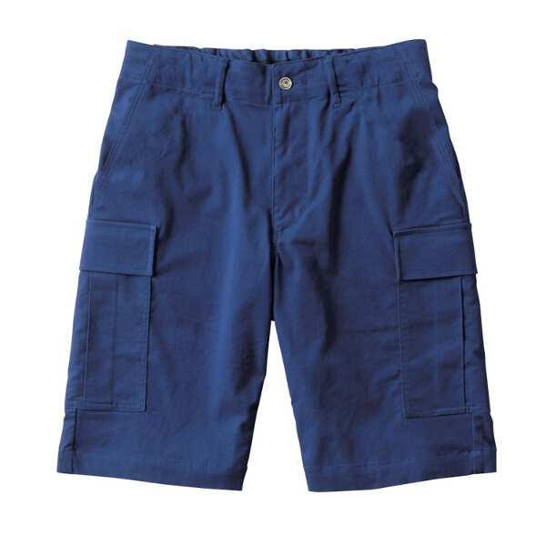 【カンタベリ―】 カーゴロングショーツ(メンズ) [サイズ:XL] [カラー:リバーブルー] #RA29084-27 【スポーツ・アウトドア:ラグビー:ウェア】