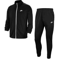 【ナイキ】 CE ベーシック ポケット トラックスーツ(上下セット) [サイズ:L] [カラー:ブラック×ホワイト] #BV3035-010 【スポーツ・アウトドア:スポーツウェア・アクセサリー:ジャージ:メンズジャージ:セットアップ】