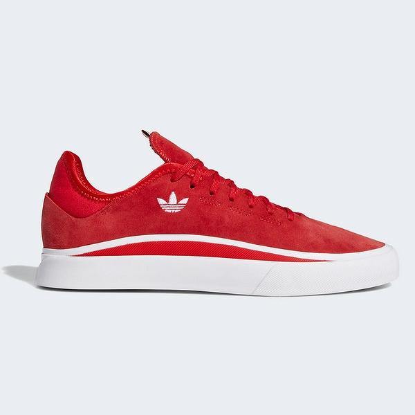 【アディダス】 アディダス スケートボーディング サバロ [サイズ:28.5cm(US10.5)] [カラー:スカーレット×ホワイト×スカーレット] #EE6094 【靴:メンズ靴:スニーカー】【EE6094】
