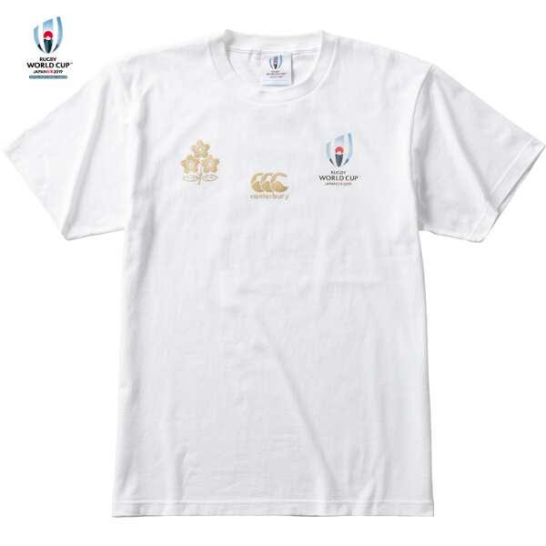 【カンタベリ―】 RWC2019 ONE TEAM TEE 限定メモリアルTシャツ [サイズ:XL] [カラー:ホワイト] #VWT39455-10 【スポーツ・アウトドア:ラグビー:ウェア:シャツ】