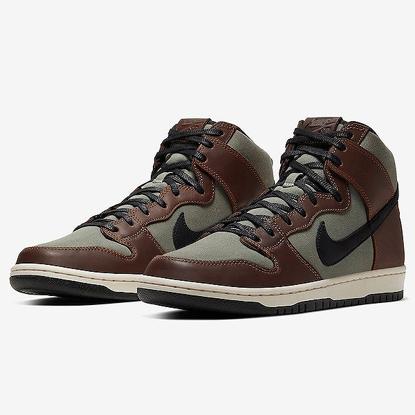 【ナイキ】 ナイキ SB ダンク ハイ プロ [サイズ:29cm(US11)] [カラー:バロックブラウン×ブラック] #BQ6826-201 【靴:メンズ靴:スニーカー】【BQ6826-201】