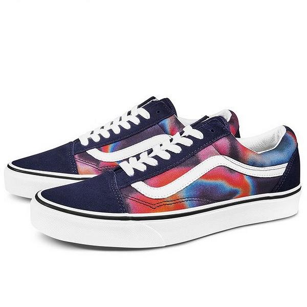 【バンズ】 バンズ オールドスクール (Dark Aura) [サイズ:27cm(US9)] [カラー:マルチ×ホワイト] #VN0A4U3BWN0 【靴:メンズ靴:スニーカー】【VN0A4U3BWN0】