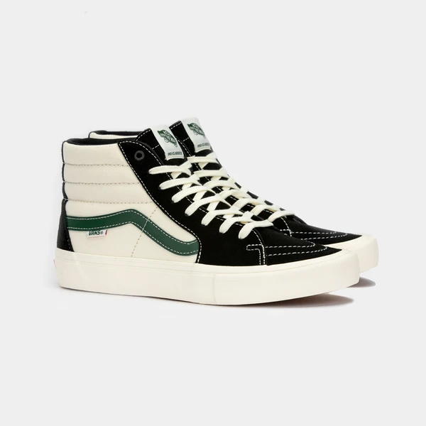 【最大4000円offクーポン(要獲得) 5/7 9:59まで】 【送料込み】 バンズ スケートハイ プロ [サイズ:27cm(US9)] [カラー:ブラック×アルパイン] #VN000VHGW6D [あす楽] 【バンズ: 靴 メンズ靴 スニーカー】【VANS VANS SK8-HI PRO】