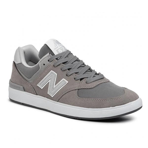 【5%off+最大3000円offクーポン(要獲得) 5/19 9:59まで】 【送料無料】 ニューバランス ヌメリック AM574GRR [サイズ:27.5cm (US9.5) Dワイズ] [カラー:グレー] 【ニューバランス: 靴 メンズ靴 スニーカー】【NEW BALANCE】