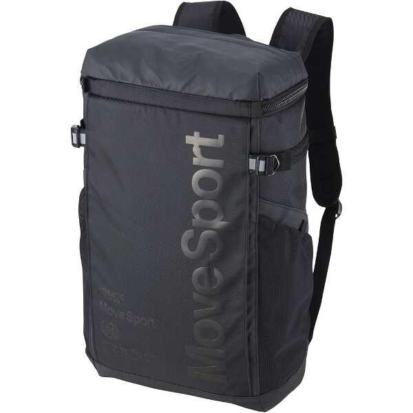 【デサント】 スクエアバッグ M バックパック [カラー:ブラック] [サイズ:W30×H50×D16cm(30L)] #DMAPJA04-BK 【スポーツ・アウトドア:その他雑貨】