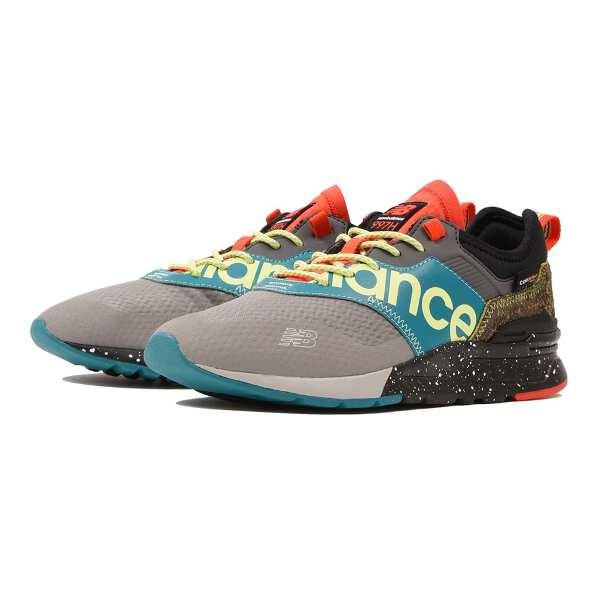 【ニューバランス】 CMT997H ランニングシューズ [サイズ:24.0cm(D)] [カラー:グレー×グリーン] #CMT997HB 【靴:メンズ靴:スニーカー】