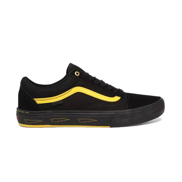 【最大10%offクーポン(要獲得) 3/27 20:00~3/31 9:59まで】 【送料無料(沖縄・離島を除く)】 バンズ オールドスクール プロ BMX (Larry Edgar) [サイズ:28cm(US10)] [カラー:ブラック×イエロー] #VN0A45JUW8Q 【バンズ: 靴 メンズ靴 スニーカー】【VANS】