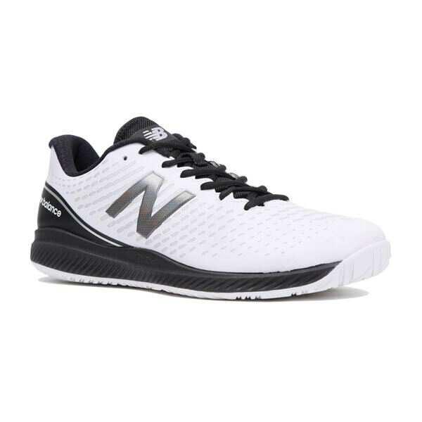 【ニューバランス】 MCH796 V2 テニスシューズ(オールコート用) [サイズ:27.5cm(4E)] [カラー:ホワイト×シルバー] #MCH796W2 【スポーツ・アウトドア:その他雑貨】