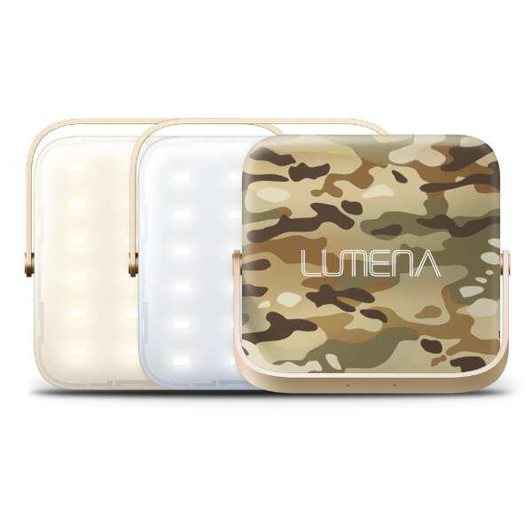 【ルーメナ―】 ルーメナ― 7 充電式LEDランタン [カラー:迷彩グリーン] [サイズ:W92×H92×D28mm] #LUMENA7GRN 【スポーツ・アウトドア:アウトドア:ライト・ランタン:ランタン】